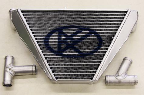ZX-6R用 サブラジエター