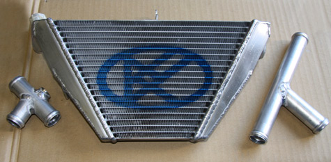 ZX-10R用サブラジエター