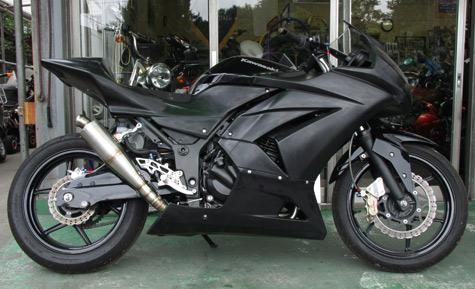 Ninja250用 RS-ITOHオリジナルマフラー