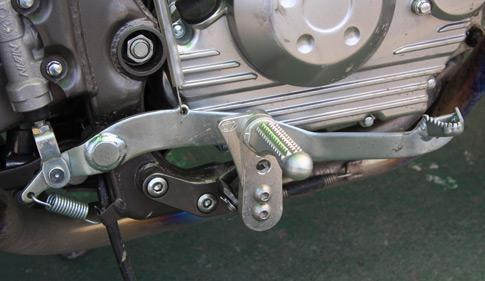 D-TRACKER 125用 BEET製 チルトステップ