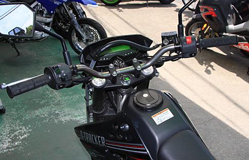 D-TRACKER 125用 BEET製 レーシングローハンドル
