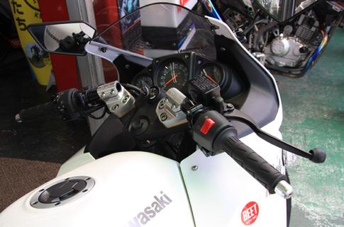 Ninja250用 BEET製 レーシングハンドルキット