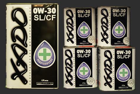 XADO Atomic OIL 0W-30 SL/CF 100%化学合成